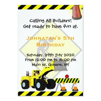 Convite do aniversário da construção da máquina