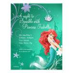 Convite do aniversário de Ariel
