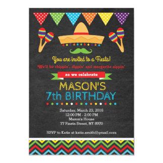 Convite do aniversário de Cinco De Mayo