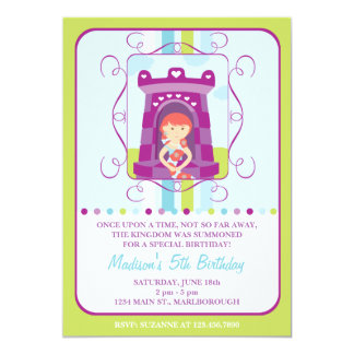 Convite do aniversário de Rapunzel