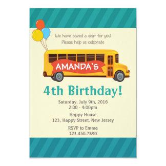 Convite do aniversário do auto escolar