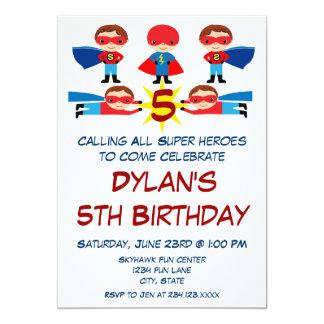 Convite do aniversário do caráter da banda