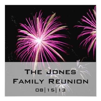 Convite do anúncio 2 da reunião de família