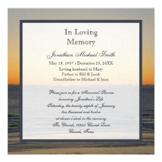 Convite do anúncio da cerimonia comemorativa