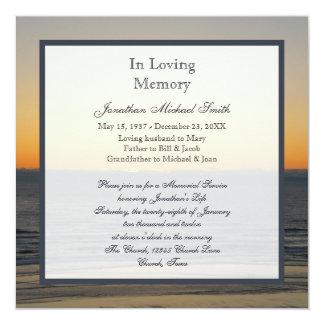 Convite do anúncio da cerimonia comemorativa convite quadrado 13.35 x 13.35cm