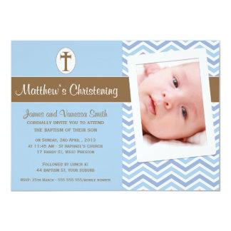 Convite do baptismo do batismo dos meninos