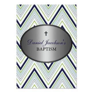 Convite do baptismo do menino