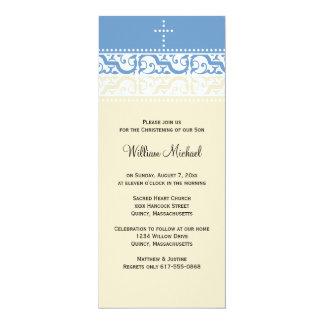 Convite do batismo/baptismo - personalize