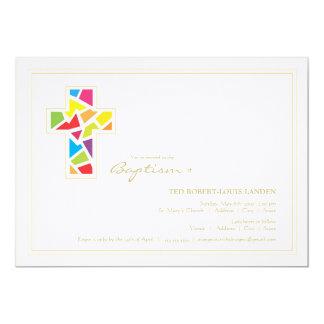Convite do batismo do baptismo |