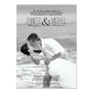 Convite do beijo do casamento de praia/casamento