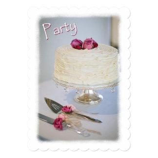 Convite do bolo e da festa de aniversário dos