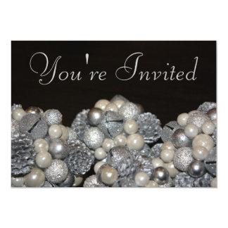 Convite do brilho do feriado