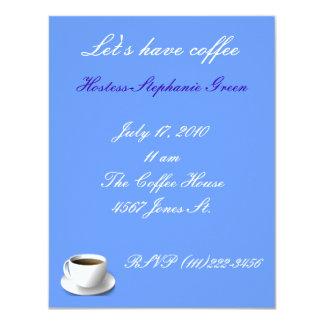 Convite do café