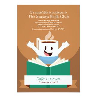 Convite do café e do livro