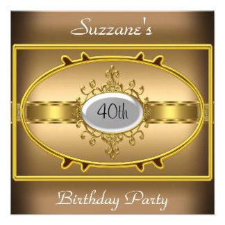 Convite do caramelo da festa de aniversário do our