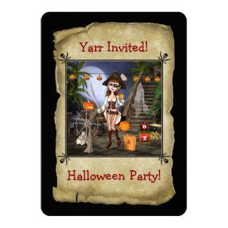 Convite do cartão do partido do Dia das Bruxas da
