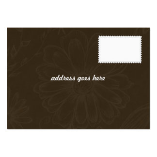 Convite do casamento - cartões de agradecimentos cartão de visita grande