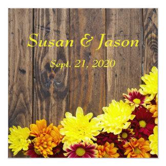 Convite do casamento--Casamento do outono