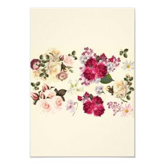 Convite do casamento com rosas retros