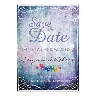 Convite do casamento da fantasia - salvar a data