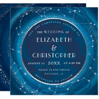 Convite do casamento da lua do eclipse