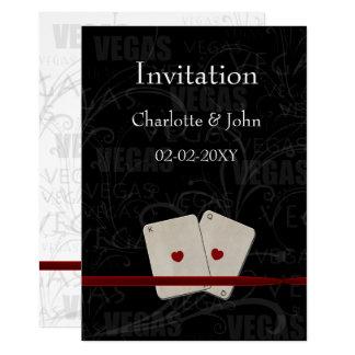 convite do casamento de vegas