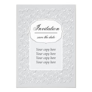 Convite do casamento, do aniversário ou do evento