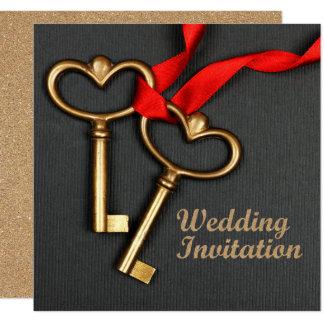 Convite do casamento do estilo elegante