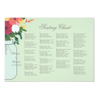 Convite do casamento do frasco de pedreiro - verde