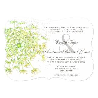 Convite do casamento do laço da rainha Anne