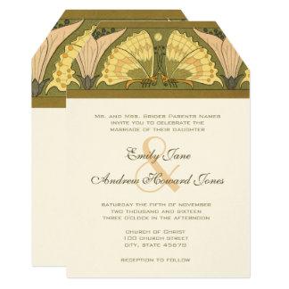 Convite do casamento do lírio de Calla da
