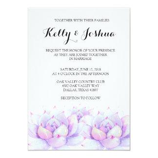 Convite do casamento do Succulent