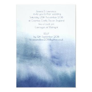 Convite do casamento do Watercolour