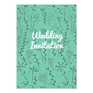 Convite do casamento rústico