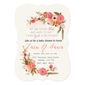Convite do chá de fraldas!