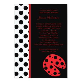 Convite do chá de fraldas da senhora Desinsetar Convite 12.7 X 17.78cm