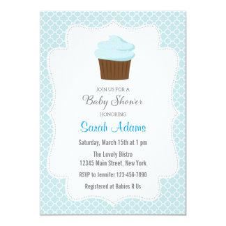 Convite do chá de fraldas do cupcake