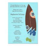 convite do chá de fraldas dos conselhos de surf do
