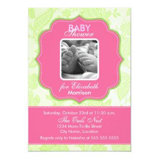 Convite do chá do bebé