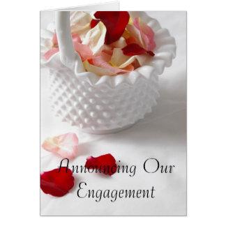 Convite do chá do noivado