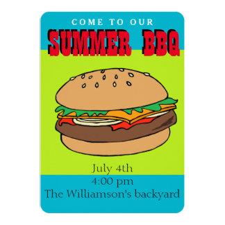 Convite do CHURRASCO do Hamburger