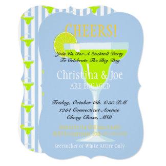 Convite do cocktail de Margarita & de festa dos