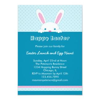 Convite do coelhinho da Páscoa