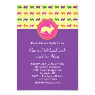 Convite do coelho de coelhinho da Páscoa