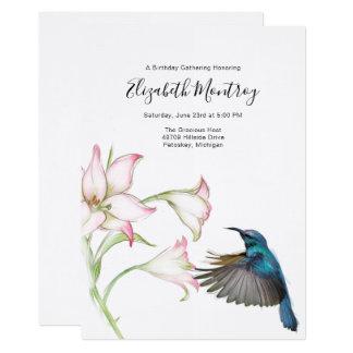 Convite do colibri