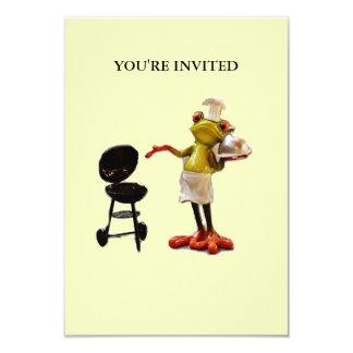Convite do comedor de rãs