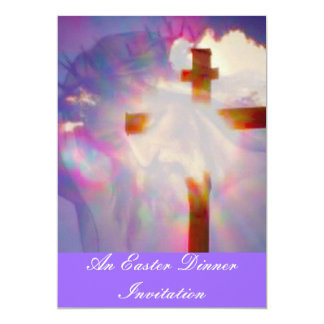 Convite do comensal da páscoa - religioso