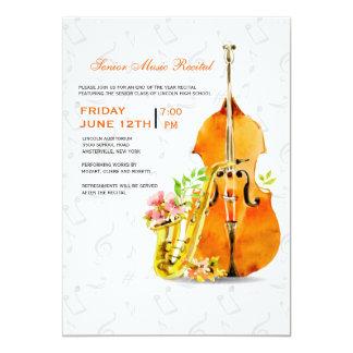 Convite do concerto do primavera