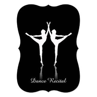Convite do considerando da dança