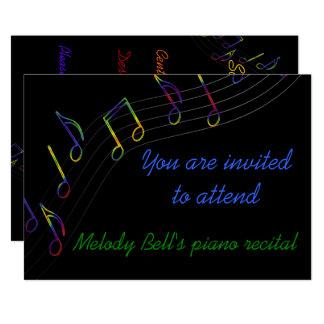Convite do considerando da música